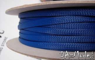 "1/2"" (12mm) DarkSide High Density Cable Sleeving - Dark Blue 1Ft"