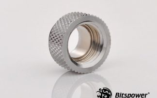 8mm Spacer Extender Adapter  - G1/4 Male/Female - Silver