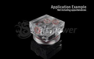 O-Ring Kit For Bitspower D5 MOD TOP (Deep Red)
