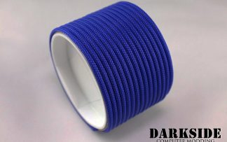 "5/32"" (4mm) DarkSide HD Cable Sleeving - Dark Blue UV-2"