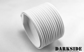 "5/32"" ( 4mm ) DarkSide HD Cable Sleeving - White"