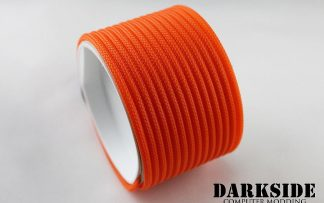 "5/32"" (4mm) DarkSide HD Cable Sleeving - Orange UV"