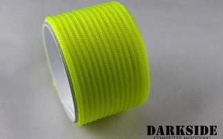 "5/32"" (4mm) DarkSide HD Cable Sleeving - Acid Yellow UV"