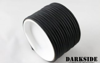 "5/32"" (4mm) DarkSide HD Cable Sleeving - Jet Black-3"