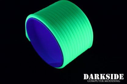 "5/32"" (4mm) DarkSide HD Cable Sleeving - Green UV-3"