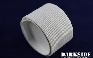 "5/64"" ( 2mm ) DarkSide High Density Cable Sleeving -White 1Ft-5"