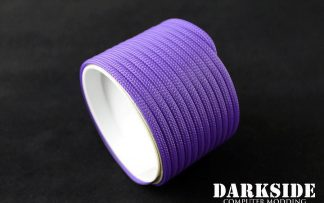 "5/32"" (4mm) DarkSide HD Cable Sleeving - Purple UV"