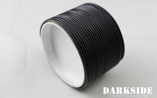 "5/64"" ( 2mm ) DarkSide High Density Cable Sleeving - Graphite 1Ft"