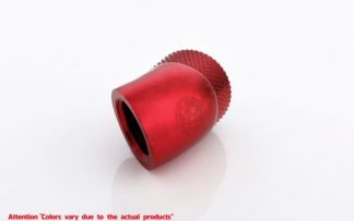45 Degree Double Rotary Adapter M/F G1/4 - Red