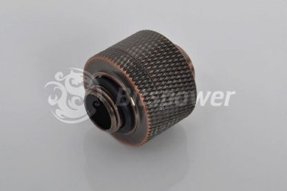 "1/2""ID  3/4""OD Straight Compression Fitting - Bronzed Age-2"