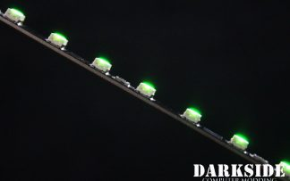 "12"" ( 30cm ) Dimmable Rigid LED Strip V2 - GREEN - FIXED 3P CABLE"