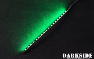 "7.5"" ( 20cm ) Dimmable Rigid LED Strip V2 - Green - FIXED 3P CABLE"