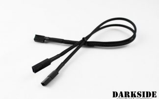 """Type 2 - DarkSide Connect to 3-PIN Y-cable - 12"""" (30cm)"""