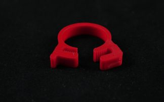 """5/8"""" OD Reusable Clamp - Red"""