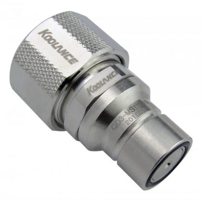 QD3 Male Quick Disconnect No-Spill Coupling