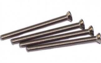 Radiator screws M3 x 30mm flat head (4 pieces)