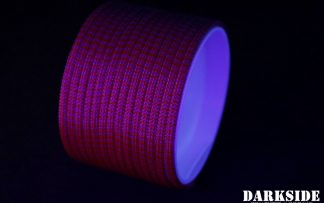 "5/32"" (4mm) DarkSide HD Cable Sleeving - Lava II UV"