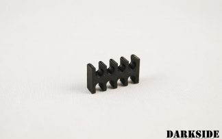 8-pin Cable Management Holder Comb - Black