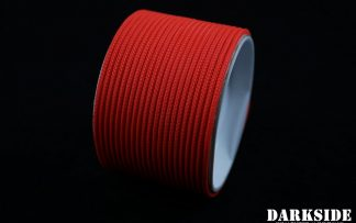"5/64"" ( 2mm ) DarkSide HD Cable Sleeving - Coral (UV)-3"