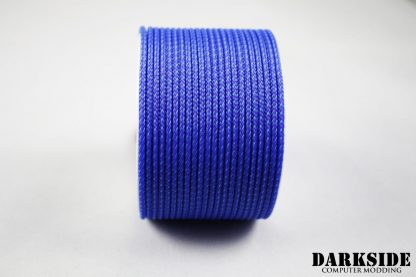 "5/64"" ( 2mm ) DarkSide HD Cable Sleeving - Sky Blue II"