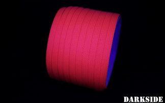 "1/4"" ( 6mm ) DarkSide High Density Cable Sleeving - Coral (UV)"