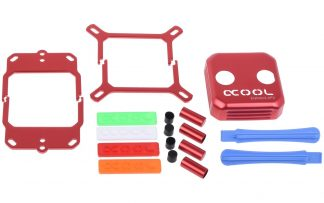 Alphacool Eisblock XPX CPU modding kit - red